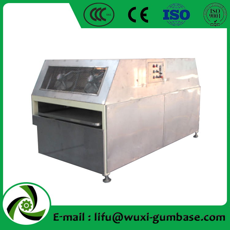 cooling sieve machine