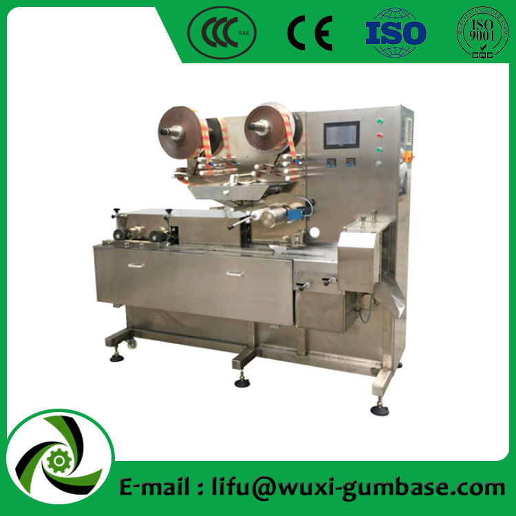 cutting and pillow packing machine