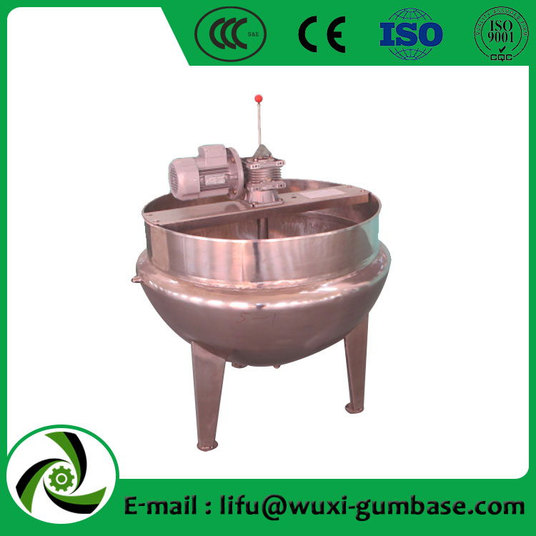 tilting jacketed cooking kettle